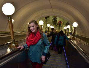 Фотографии начальников станций метро смогут увидеть жители района Замоскворечье. Фото: Антон Гердо, «Вечерняя Москва»