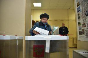 Столичные избирательные участки проверили на доступность для маломобильных горожан. Фото: Антон Гердо, «Вечерняя Москва»