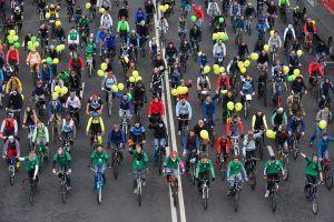Проведение велосипедных фестивалей планируют возобновить в Москве. Фото: архив, «Вечерняя Москва»