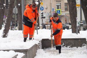 Лед со снегом убрали в районе. Фото: архив, «Вечерняя Москва»