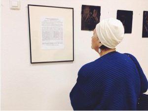 Открытие выставки «Сверхзадача — выжить» состоялось в музее района. Фото: Анна Быкова