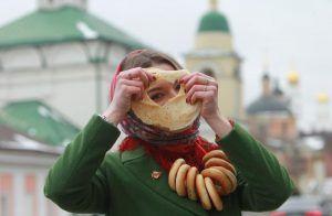 Количество съеденных традиционных лакомств во время фестиваля «Московская Масленица» составило около 400 тысяч. Фото: Наталия Нечаева, «Вечерняя Москва»