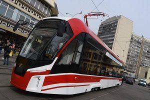 К 2024 году в Москве полностью обновят парк трамваев. Фото: Владимир Новиков, «Вечерняя Москва»