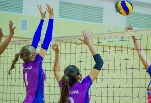 Волейболисты из университета имени Плеханова сыграют в финальных студенческих играх. Фото: Светлана Колоскова, «Вечерняя Москва»