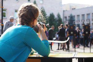 Студенты университета имени Плеханова пробежали кросс. Фото: Антон Гердо, «Вечерняя Москва»