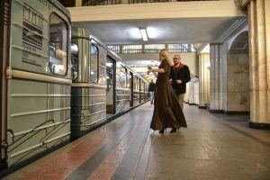 Тематический поезд «Московский предприниматель» запустили через станции в районе. Фото: Пелагия Замятина, «Вечерняя Москва»