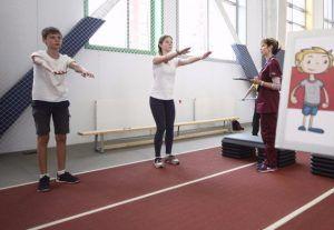Ученики одной из школпоучаствуют вокружном соревновании. Фото: сайт мэра Москвы