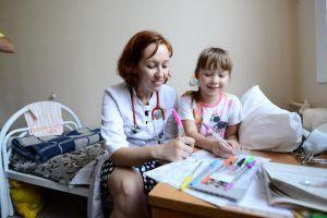 День открытых дверей проведут в Морозовской больнице. Фото: Наталья Феоктистова, «Вечерняя Москва»
