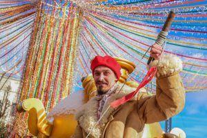 Жители района приняли участие в праздничном мероприятии. Фото: Пелагия Замятина, «Вечерняя Москва»