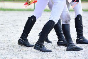 Студентка Плехановского университета выиграла в соревновании по конному спорту. Фото: Пелагия Замятина, «Вечерняя Москва»