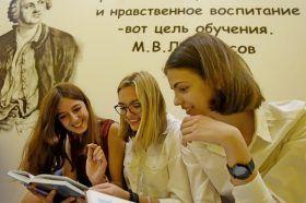 Конкурс исследовательских работ состоялся в школе №627. Фото: Александр Кожохин, «Вечерняя Москва»