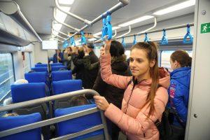 Около 11,6 миллиона человек стали пассажирами МЦК. Фото: Светлана Колоскова, «Вечерняя Москва»