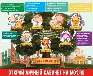 Жители Москвы могут посмотреть всю оперативную информацию по ситуации в столице на mos.ru