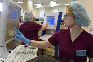 К борьбе с коронавирусом подключились частные клиники. Фото: Владимир Новиков, «Вечерняя Москва»
