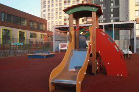 Благоустройство детских площадок проведут в районе. Фото: Наталия Нечаева, «Вечерняя Москва»