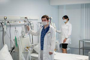 Как в городе отмечают день медицинского работника. Фото: сайт мэра Москвы