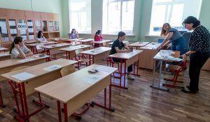 Более 736 тысяч выпускников будут сдавать ЕГЭ в 2020 году. Фото: сайт мэра Москвы