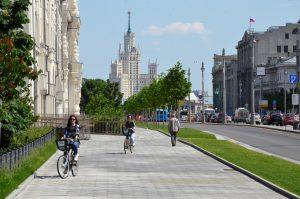 Множество веломаршрутов доступно жителям столицы. Фото: Анна Быкова