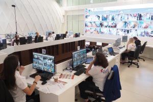 Данные участников онлайн-голосования проходят масштабную проверку. Фото: Антон Гердо, «Вечерняя Москва»
