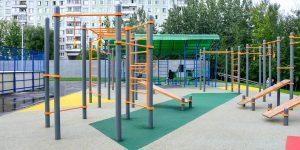 Площадки для занятия уличными видами спорта открыли в столице по программе «Мой район»