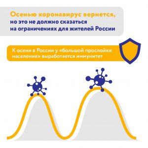 Эксперты спрогнозировали вероятность второй волны коронавируса в России