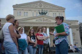 Экскурсию «Чумной бунт XVIII века в Москве» провели сотрудники ТЦСО. Фото: Наталья Феоктистова