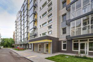 Здания по программе реновации в Москве оснастят энерготехнологиями при строительстве. Фото: Анна Быкова