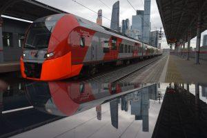 Пассажиропоток восстановлен на МЦК после самоизоляции. Фото: Александр Казаков, «Вечерняя Москва»