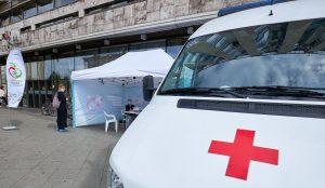100 тыс москвичей привились от гриппа в первые дни вакцинации. Фото: сайт мэра Москвы
