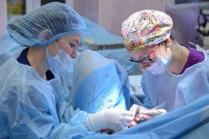 Врачи Морозовской больницы провели уникальную операцию. Фото: Дмитрий Рухлецкий, «Вечерняя Москва»