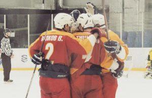 Хоккеисты Плехановского университета сыграли матч. Фото: предоставили в пресс-службе спортивного клуба университета