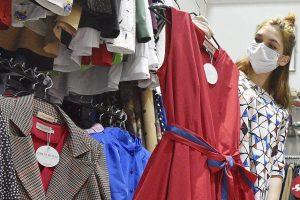 Студентка Школы дизайна Высшей школы экономикисоздала свой бренд одежды. Фото: Пелагия Замятина, «Вечерняя Москва»