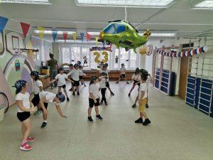 Соревнования прошли в подготовительных группах школы №1259. Фото взято с сайта школы