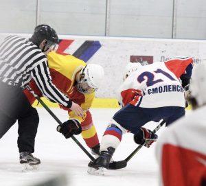 Третья игра состоялась у хоккейной команды Плехановского университета. Фото предоставили в пресс-службе спортивного-клуба университета