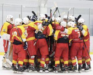 Сборная по хоккею Плехановского университета выиграла четвертый матч. Фото предоставили в пресс-службе спортивного клуба университета