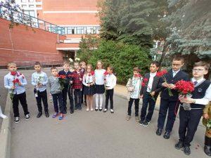 День танкиста отметили в школе №627. Фото взято с сайта школы